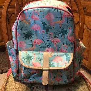 Cynthia Rowley Flamingo insulated back back